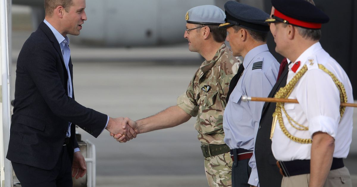 Prince William has special message for troops spending Christmas away from home