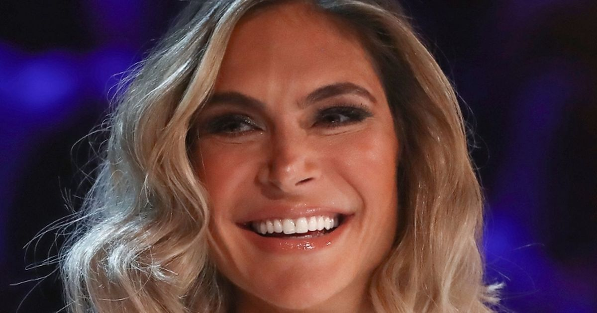 X Factor's Ayda Field makes shock jibe at Simon Cowell over son Eric's new song