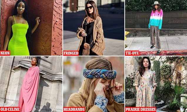 The upcoming street styles that will dominate 2019 Instagram feeds