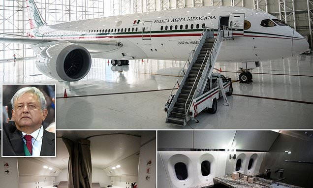 Mexico's new socialist leader readies presidential jet for sale