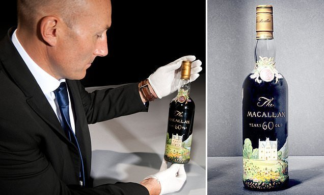 Bottle of 92-year-old whisky sells for world record £1.2MILLION