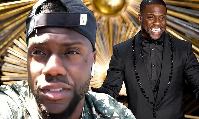 Kevin Hart in good spirits at gig in Australia after quitting Oscars