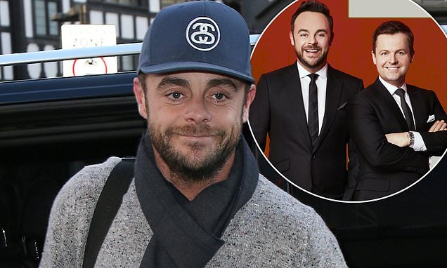 Ant McPartlin 'will return to work in January for BGT auditions'