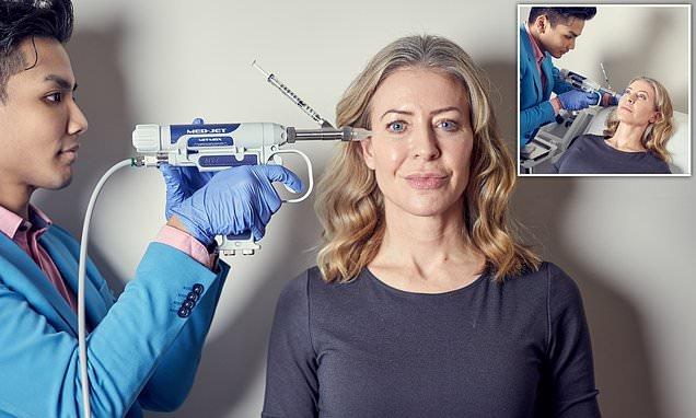 Would YOU brave the new Botox gun?