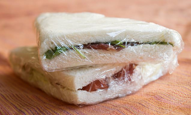 Don't wrap lunches in clingfilm: Schools to ban single-use plastic