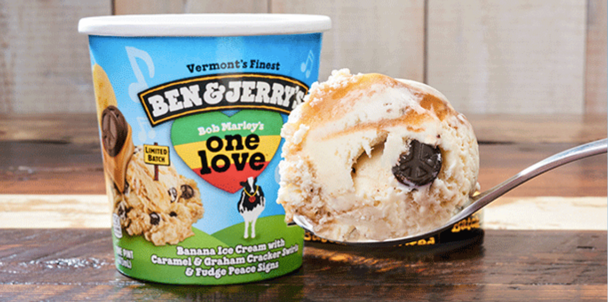"Ben & Jerry's Brought Back Its Iconic ""One Love"" Flavor — But Only For A Limited Time"