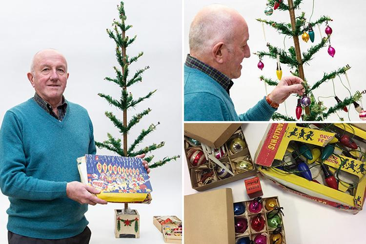 Man, 74, set to make £400 by selling vintage 1930s Woolworths Christmas tree – how much are your old decorations worth?
