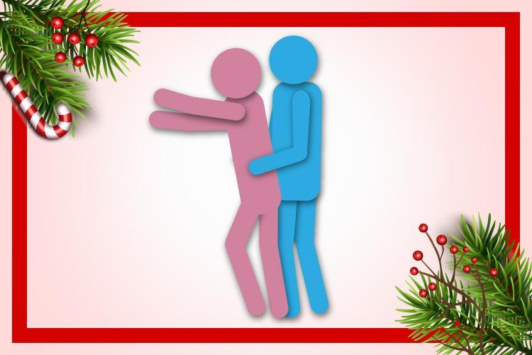 The Deck the Halls sex position promises some festive fun on day 14 of our sexy Christmas countdown