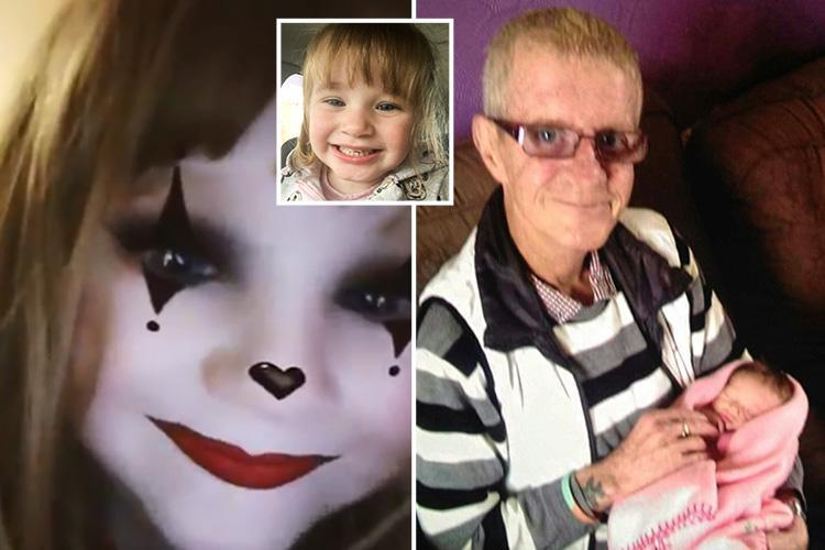 Mum claims daughter, 3, captured 'Peter Pan' grandad talking to her from the GRAVE in Snapchat video
