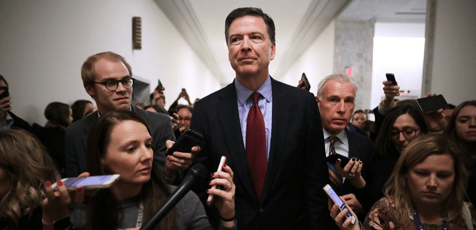 James Comey Says Republicans In Closed-Door Session Asked Mostly About Hillary's Emails