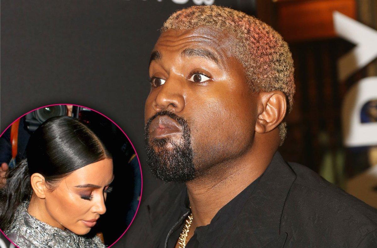Kim Hires 24/7 Spy Squad For Krazy Kanye Amid Marriage Crisis