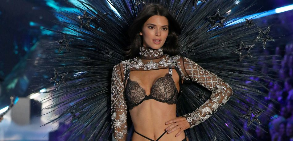 Kendall Jenner Shares Hilarious Video Of Mom Kris Cheering Her On At Victoria's Secret Fashion Show