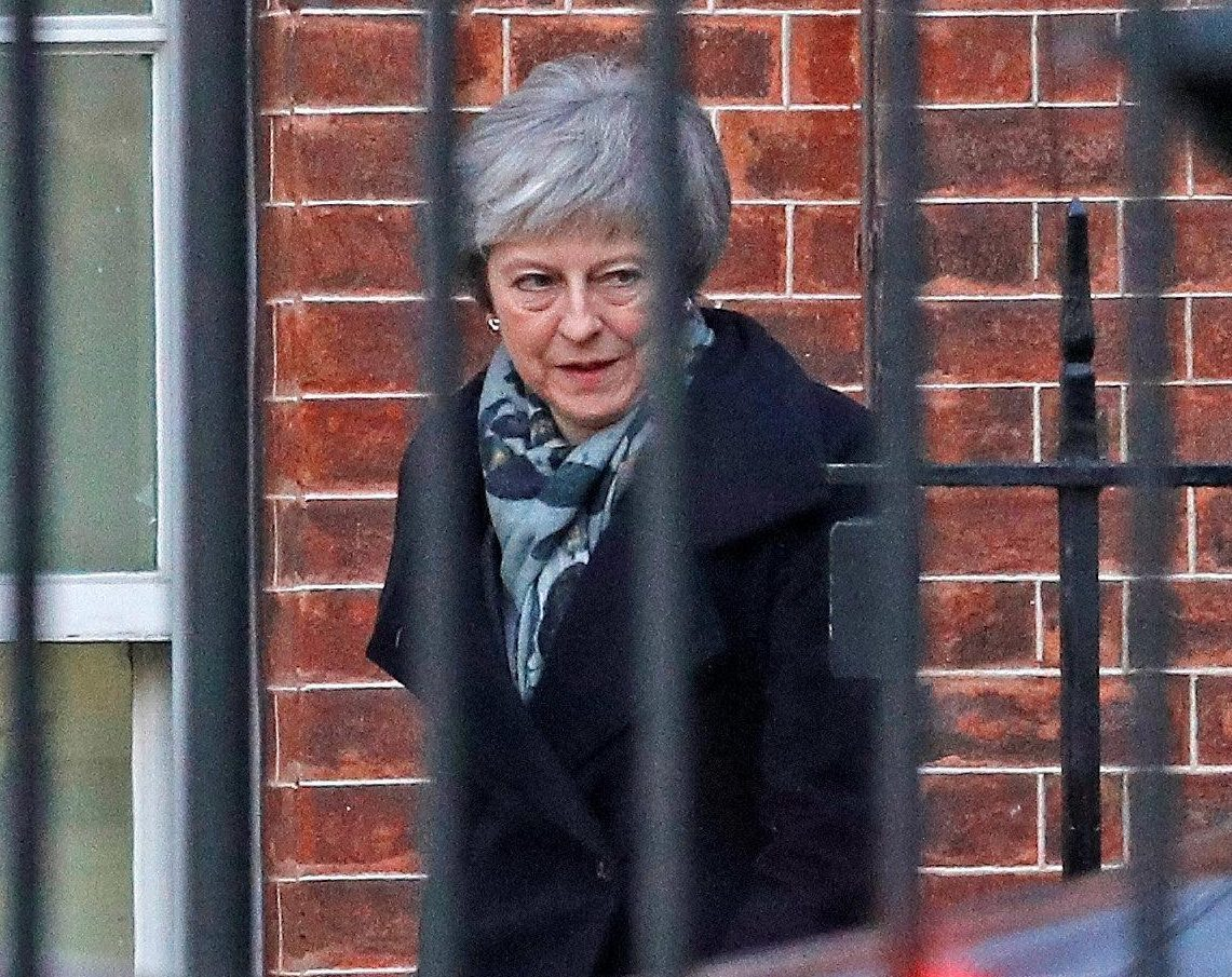 Zombie Theresa May to get just 10 MINUTES to demand better Brexit deal from EU bosses after crippling vote