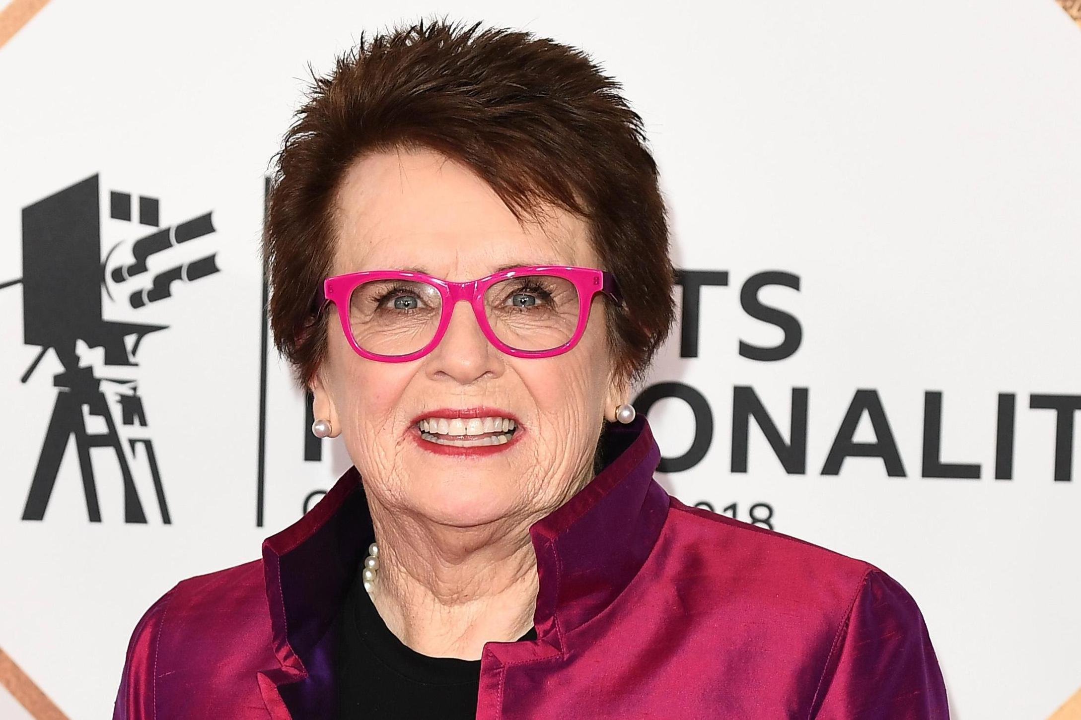 Who is Billie Jean King? Women's tennis legend, and BBC Sports Personality of the Year Lifetime Achievement Award winner?