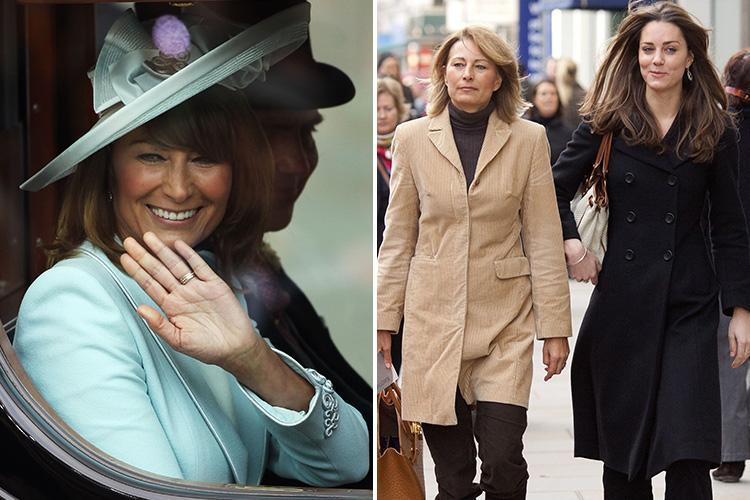 Carole Middleton says her 'biggest fear' was 'losing' daughter Kate
