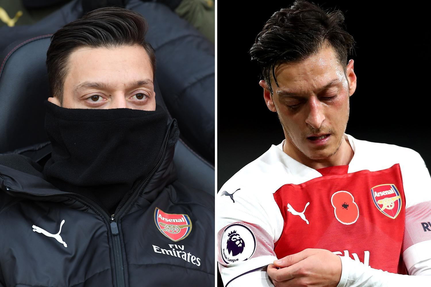 Arsenal want to sell Mesut Ozil but may be forced to punt him around on loan in January
