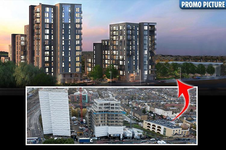 Property developer accused of Islamophobia for 'airbrushing mosque out of flats promo'