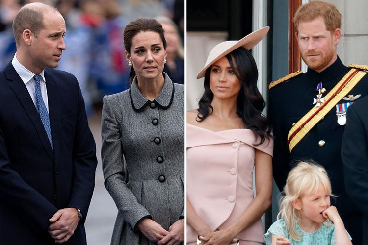 Prince William and Kate WILL spend a frosty Christmas with Prince Harry and Meghan as the two couples will join the Queen in Norfolk despite rumours of a rift