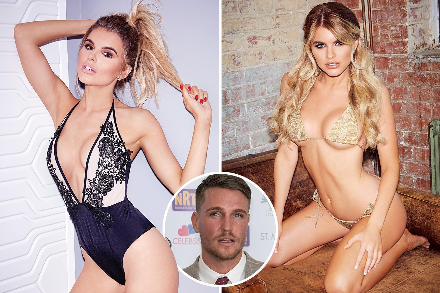 Love Island's Hayley Hughes wows in sexy photoshoot wearing plunging lacy lingerie ahead of first Christmas with boyfriend Tom Zanetti