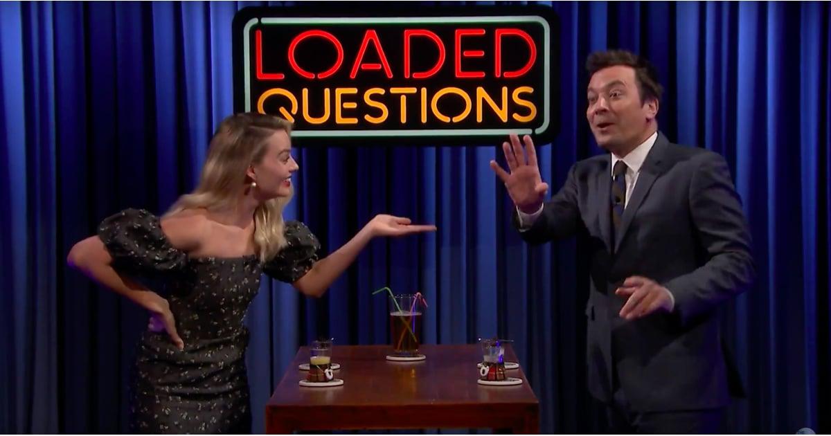 Margot Robbie Got Jimmy Fallon to Admit His Old Costar Crush — No, It's Not Nicole Kidman