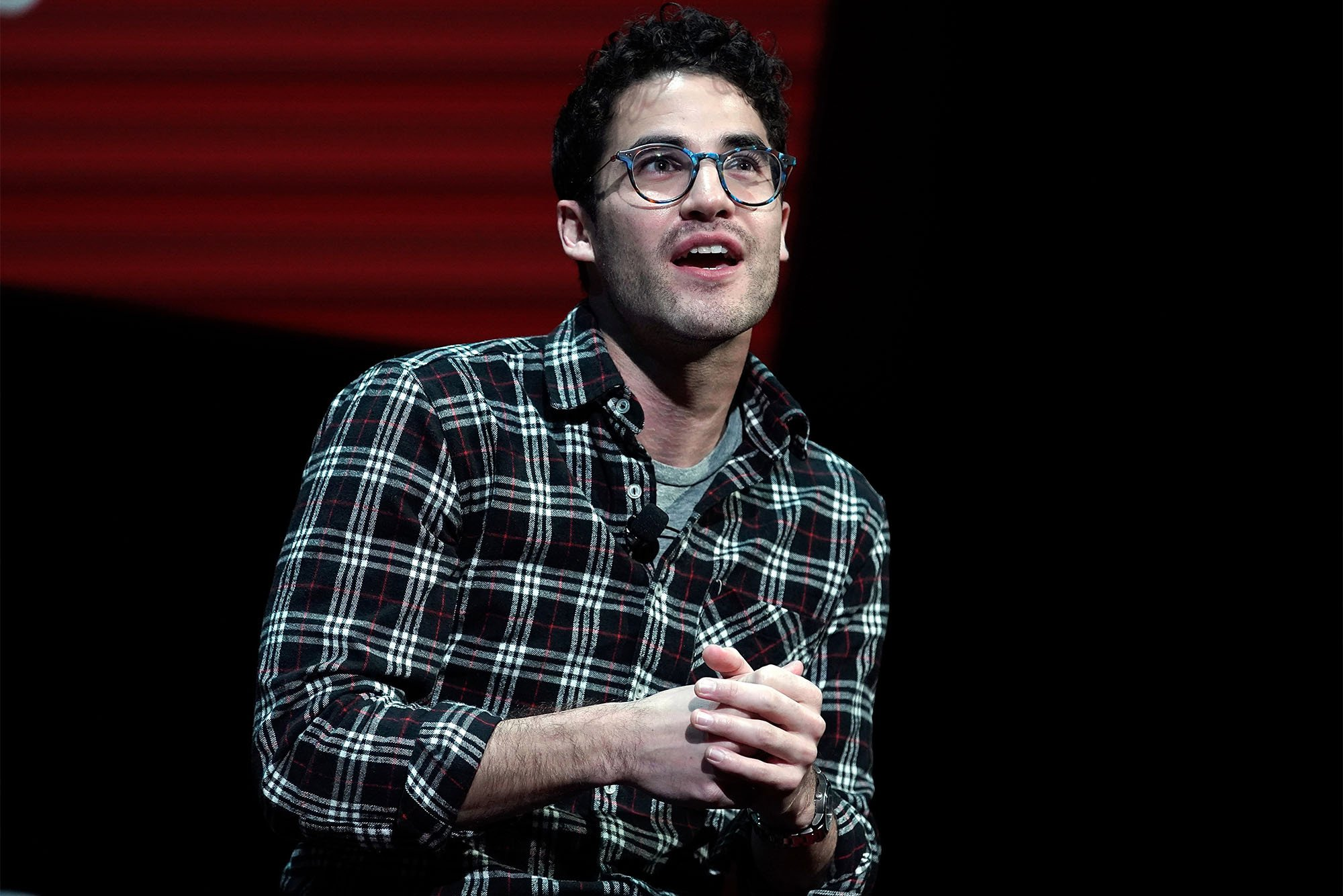 Darren Criss says he won't play gay characters anymore