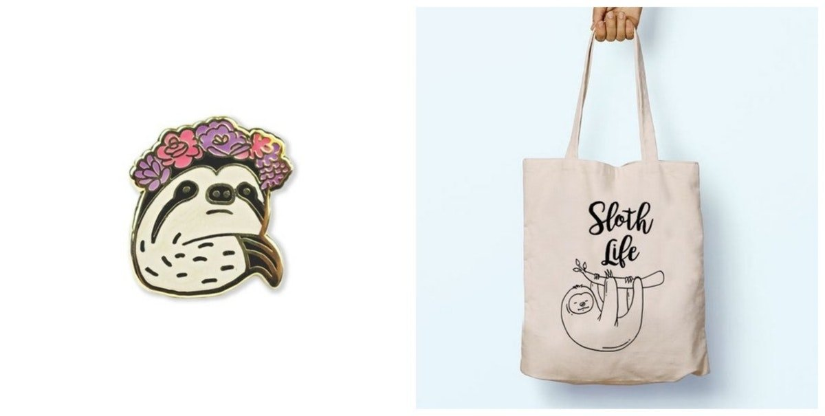 Sloths Are The New Unicorns & These 13 Ridiculously Adorable Sloth Items Prove It