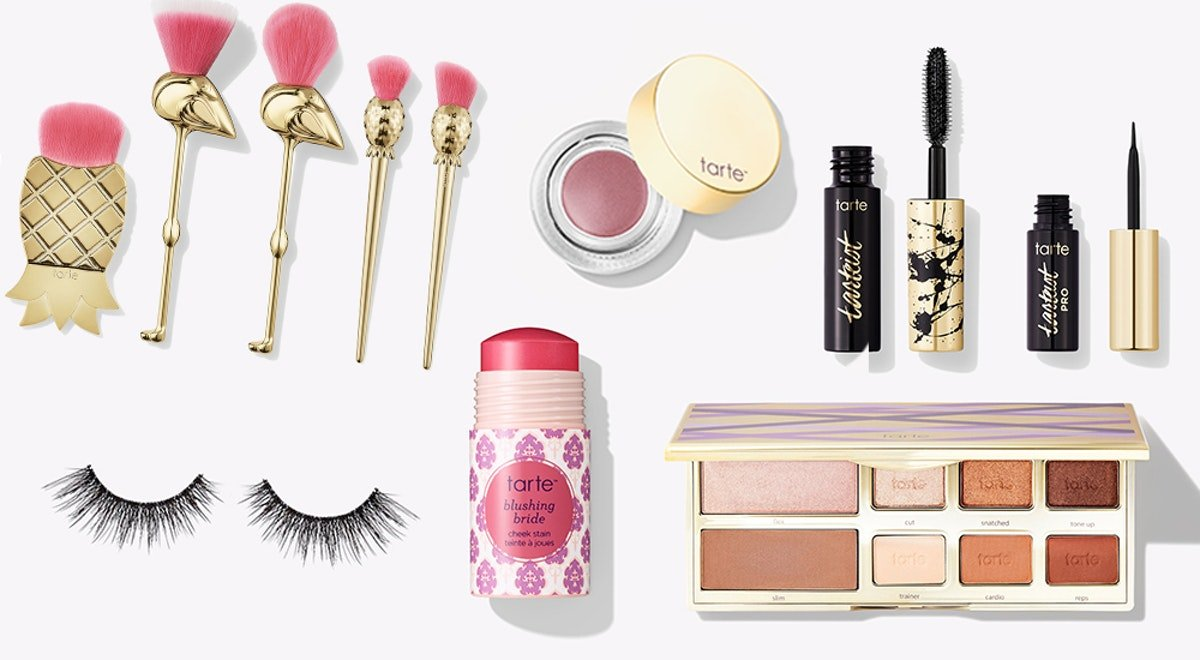 Tarte Cosmetics' Year-End Sale 2018 Features Up To 70 Percent Off On Palettes, Brush Sets, & More