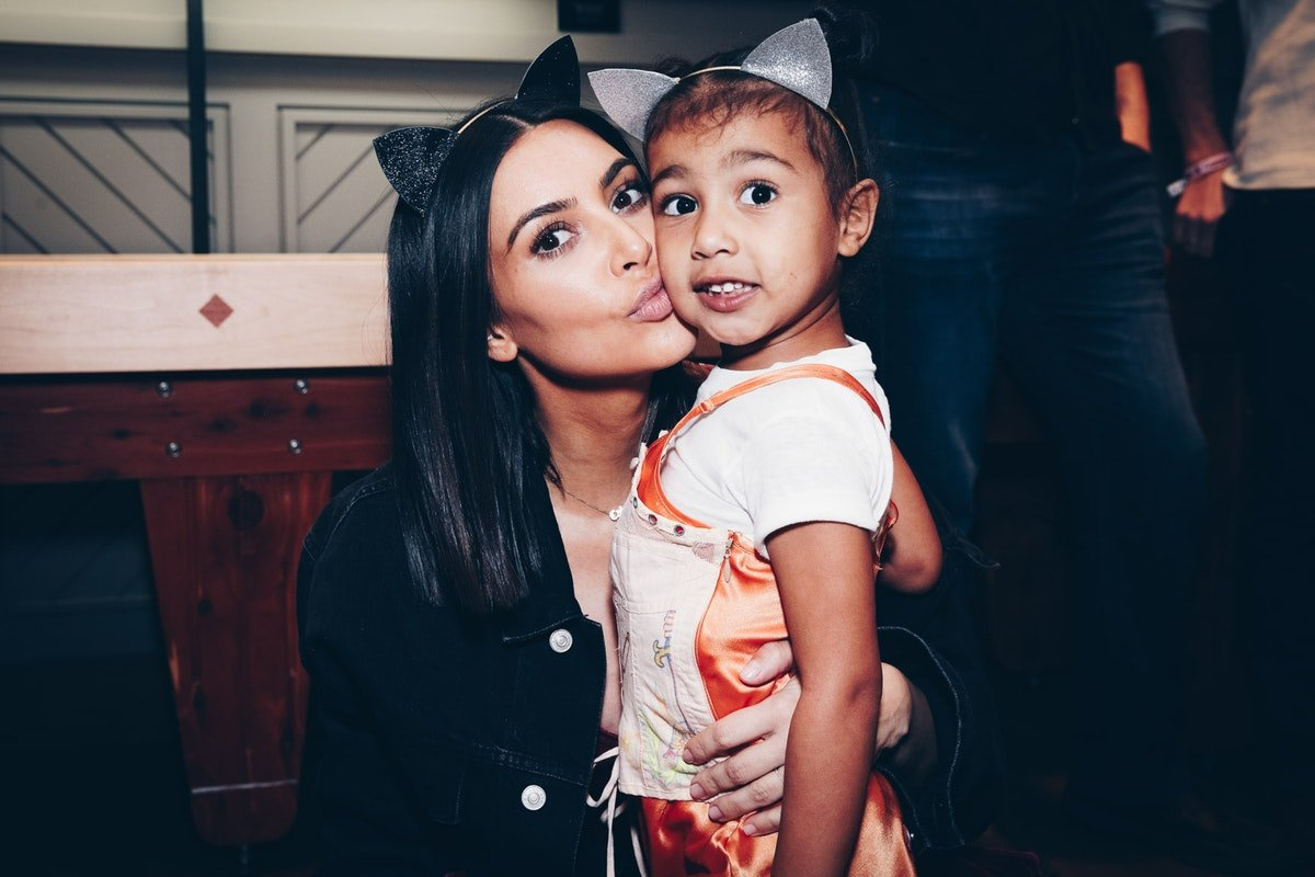 Kim Kardashian Did A Photo Shoot With North & Totally Let Her Daughter Take Charge