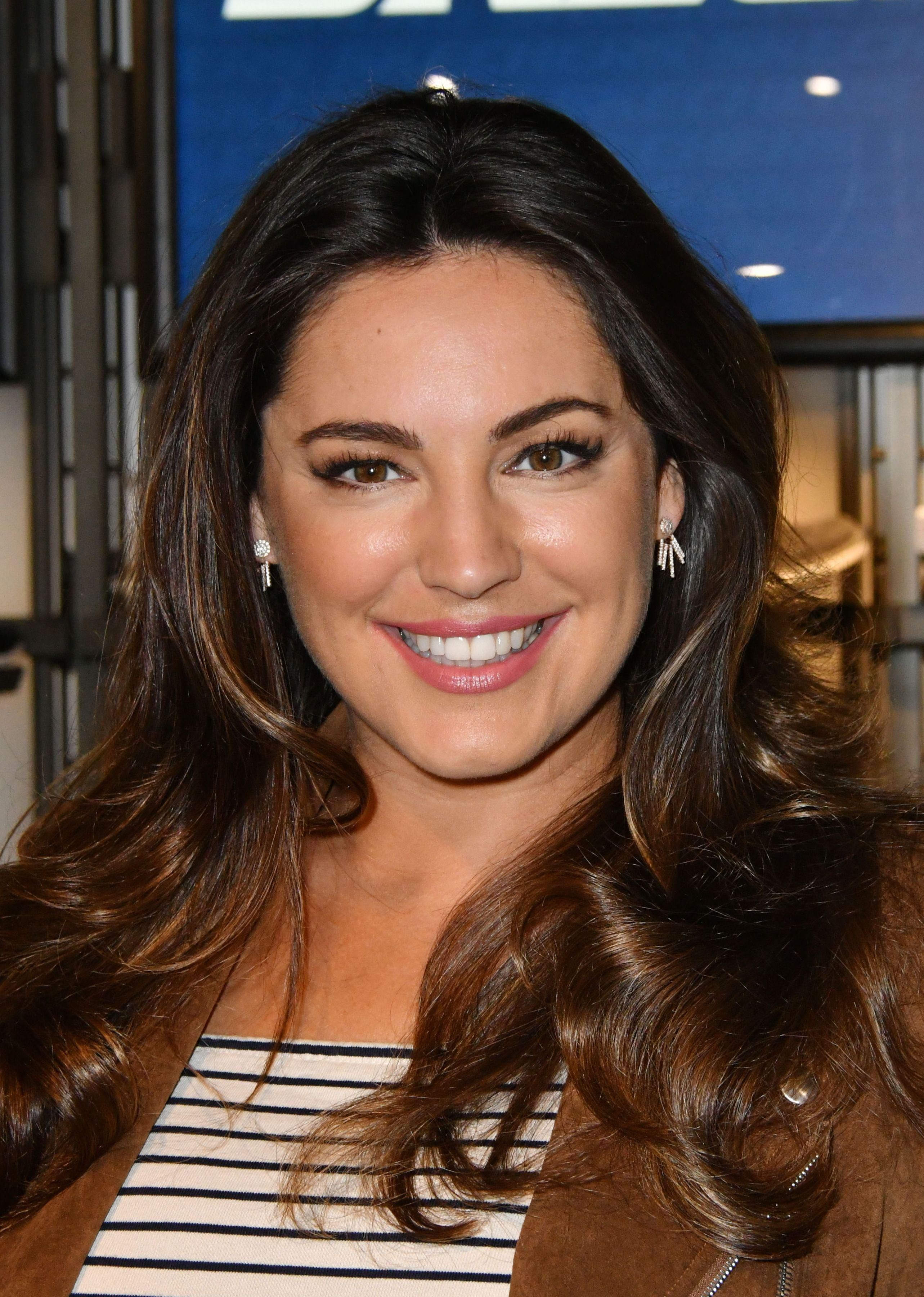 How old is Kelly Brook, who is her boyfriend Jeremy Parisi and when did the model join the Loose Women panel?