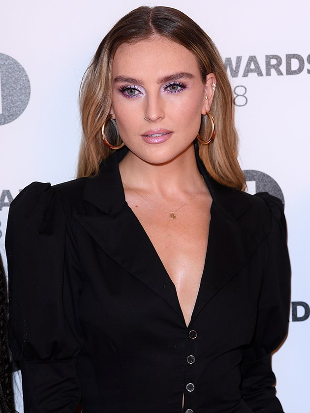 Perrie Edwards reveals Christmas decorations with rare look at cosy night