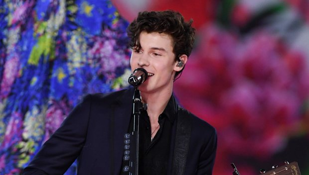 Shawn Mendes Gets Flirty With Models While Performing 'Lost In Japan' At VS Fashion Show