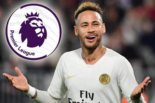 PSG star Neymar says 'every great footballer has to play' in the Premier League as he puts Man City on alert