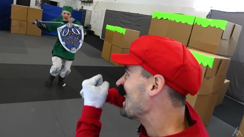 Super Smash Bros: Marvel movie stunt actors create live-action game