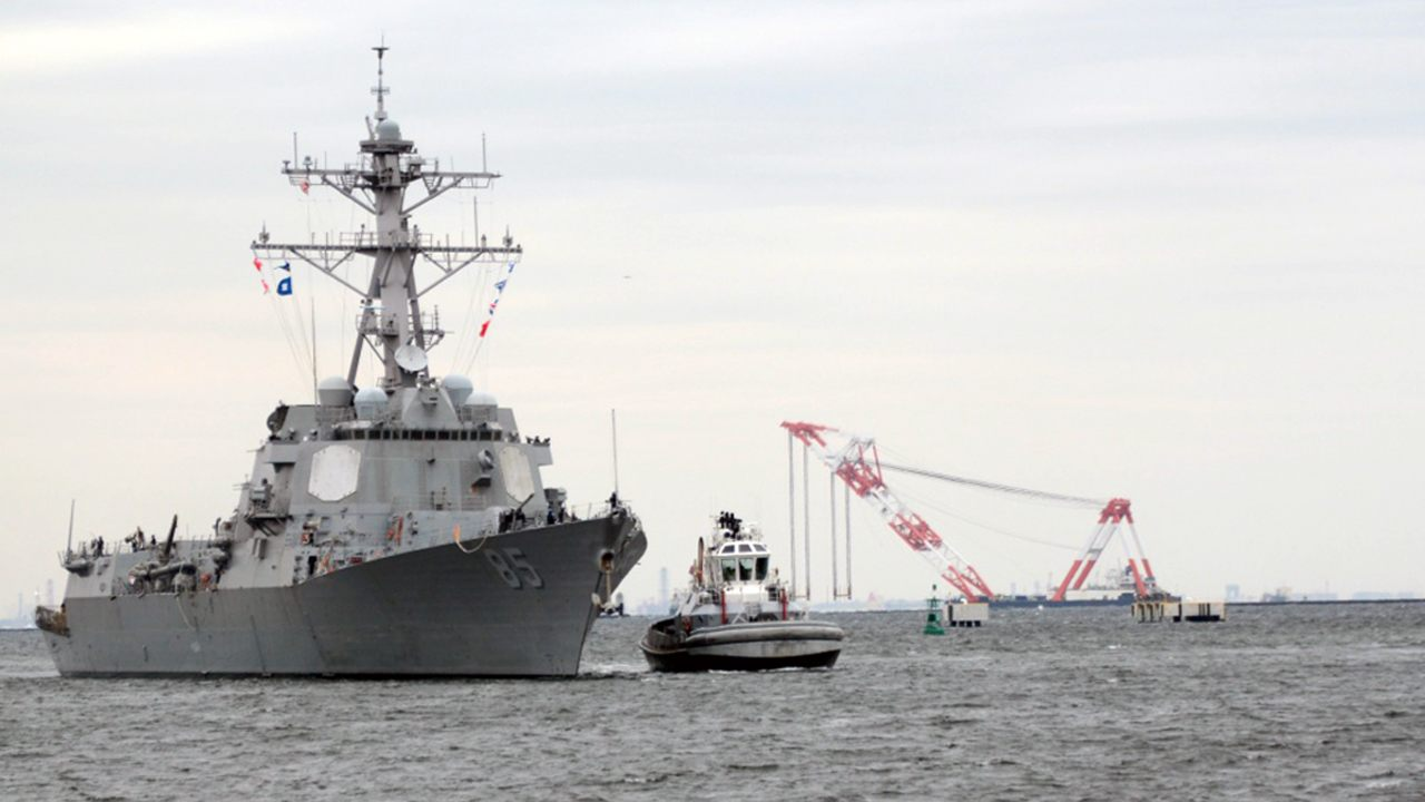 US warship sails in Sea of Japan waters claimed by Russia