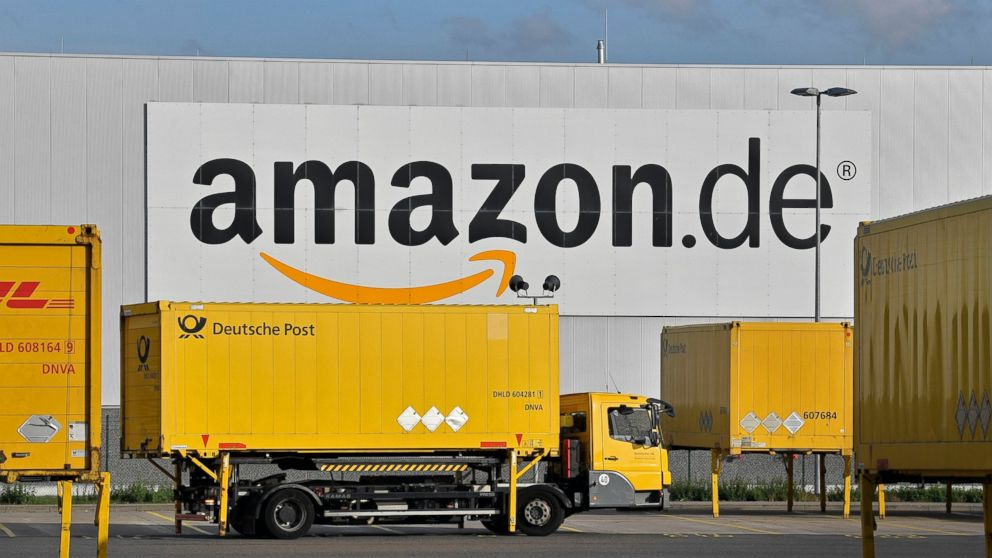 Amazon workers on strike in Germany a week before Christmas