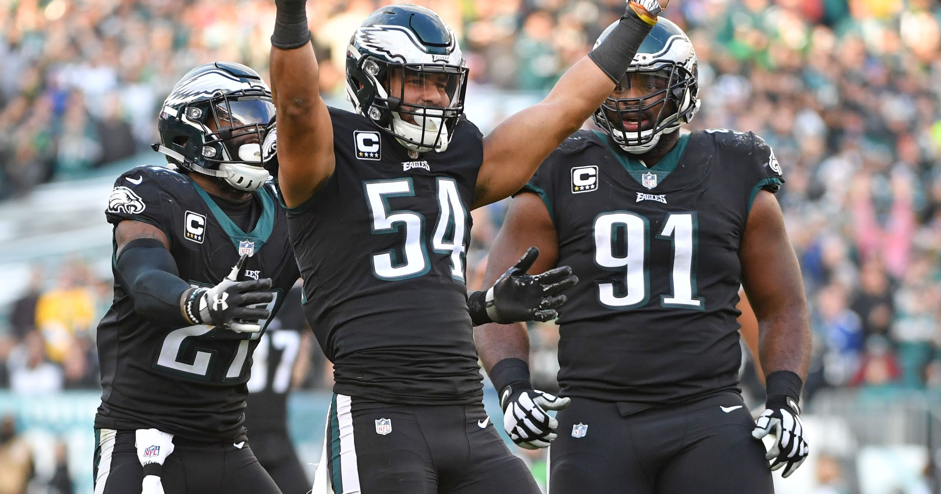 Eagles LB Kamu Grugier-Hill: Cowboys 'always choke'