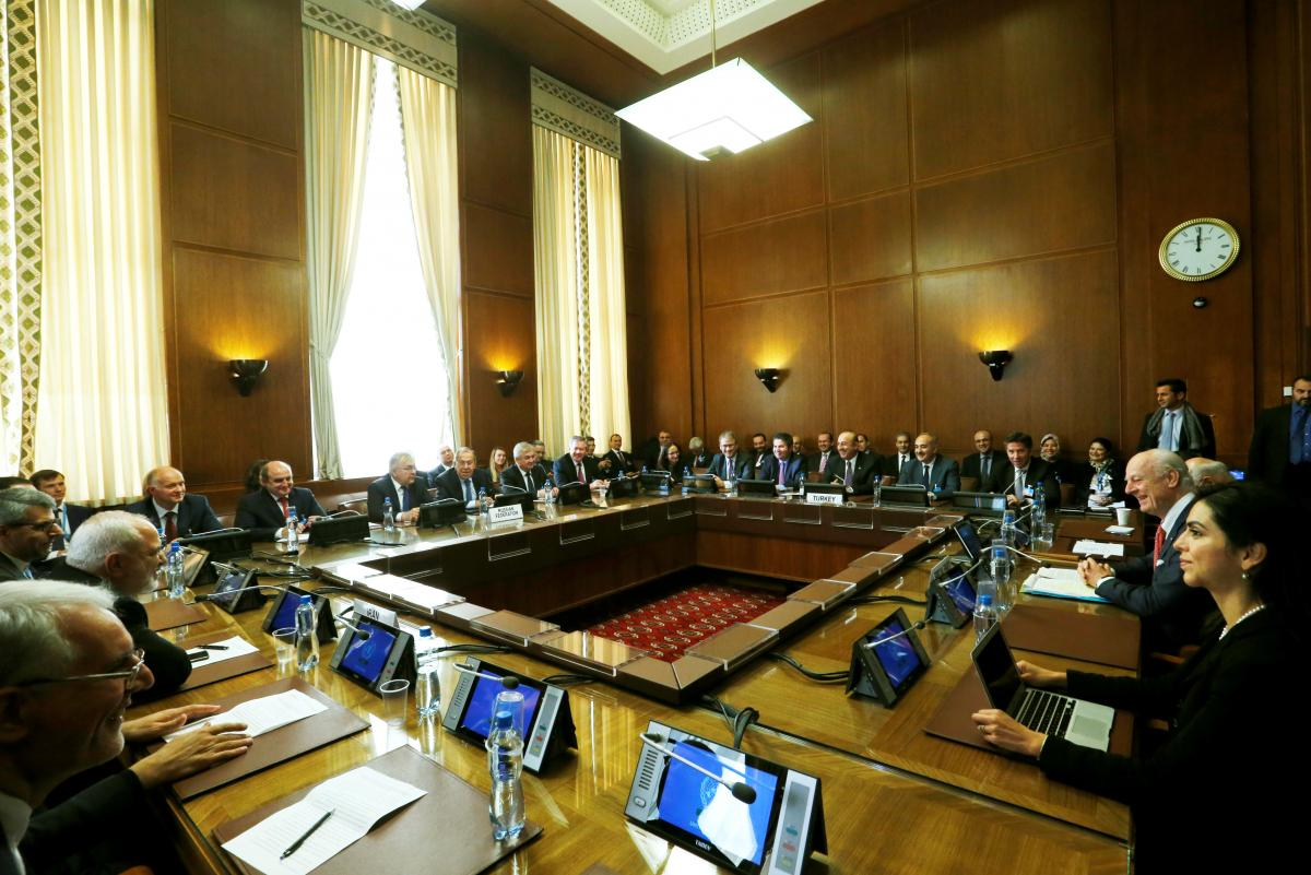 Russia, Iran, Turkey back new Syria constitution body but fail to agree makeup