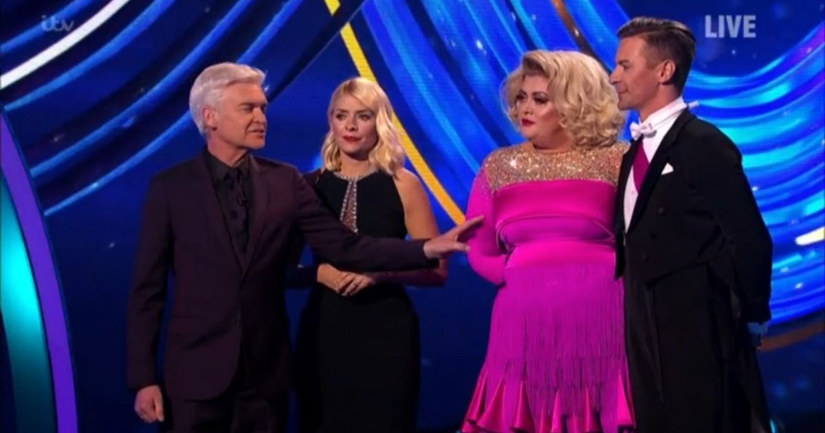 Gemma Collins brutally mocked by Phil and Holly as Dancing On Ice feud reignites