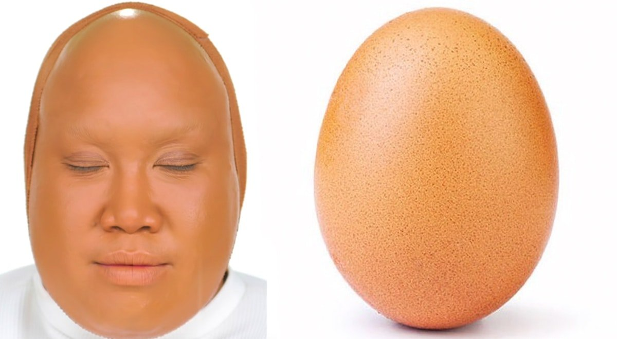 Patrick Starrr's Instagram Egg Transformation Is Both Hilarious & Eerily Accurate
