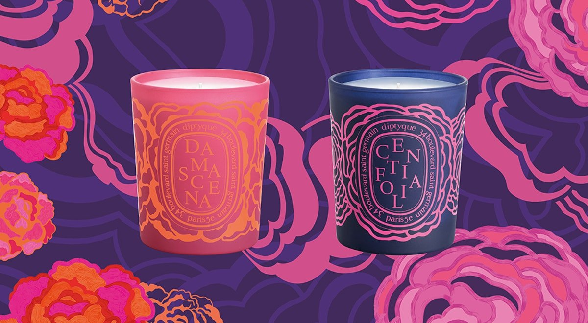 Diptyque's New Roses Valentine's Day 2019 Collection Boasts Romantic Packaging & Two Brand-New Candles