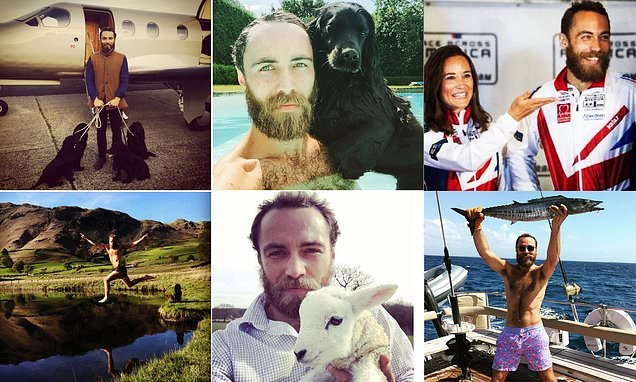 James Middleton's Instagram account gives glimpse at life in Scotland