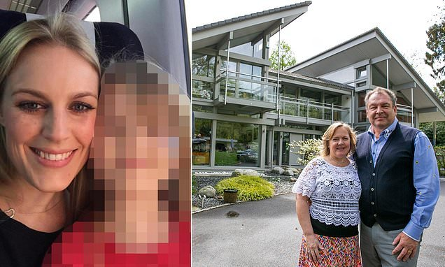 Pictured: Mother who missed out on £3m home she 'won' in raffle