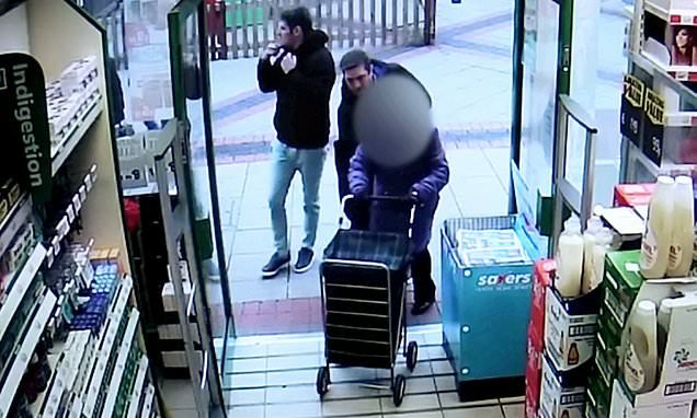 Pickpocket steals pensioner's purse as she pushes shopping trolley