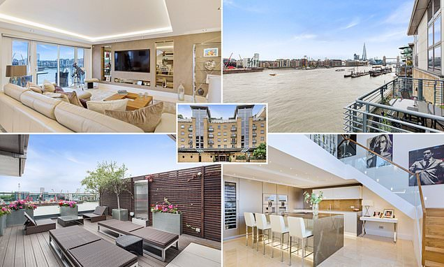 River Thames apartment for sale for £4.25 million