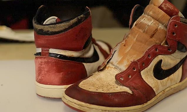Vintage Air Jordans look as good as new after the shoes are restored