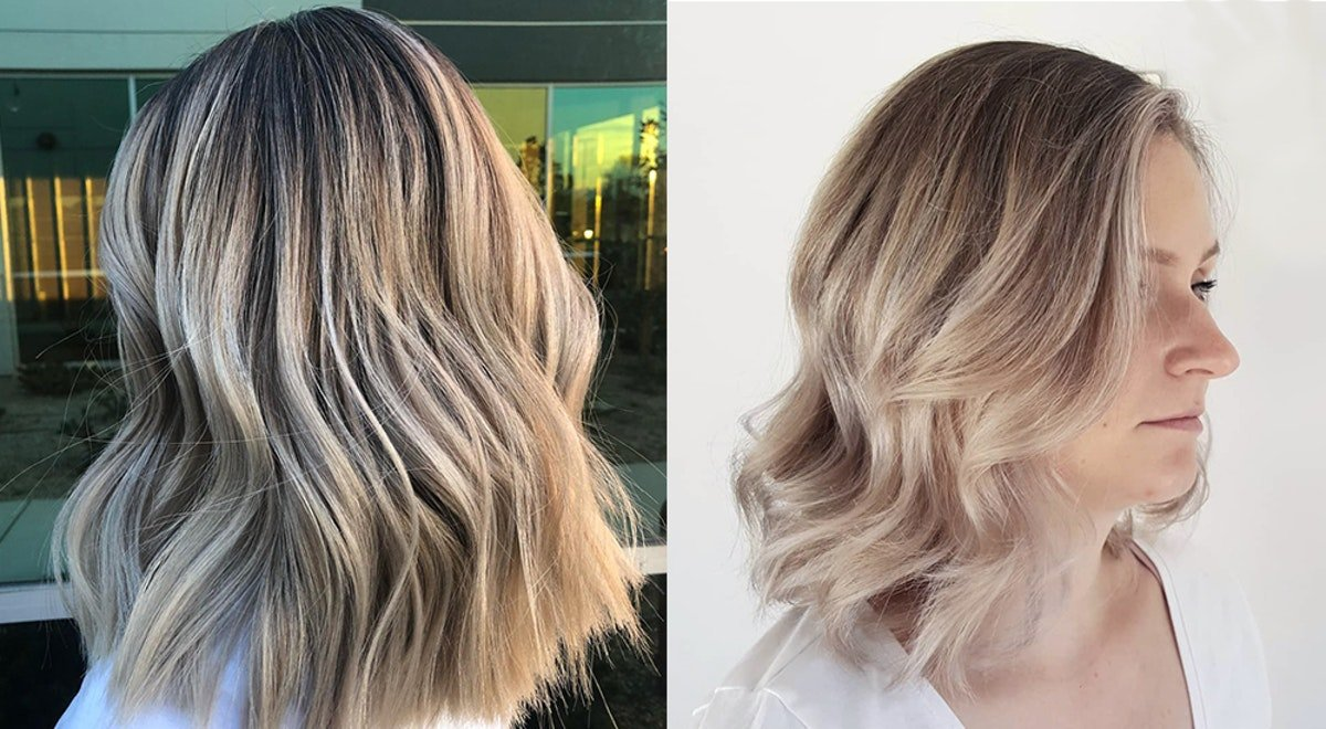 """How To Get """"Smoked Marshmallow"""" Hair, One Of The Hottest 2019 Hair Trends"""