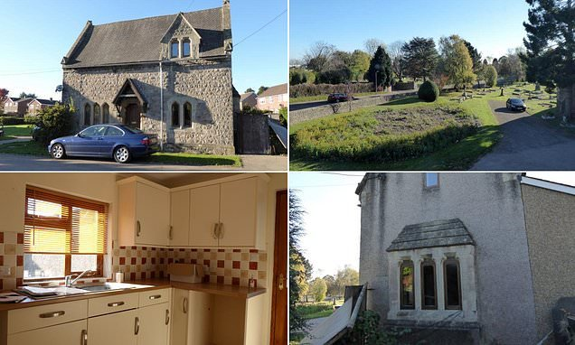 Gothic-style home that comes with keys to a graveyard goes on sale