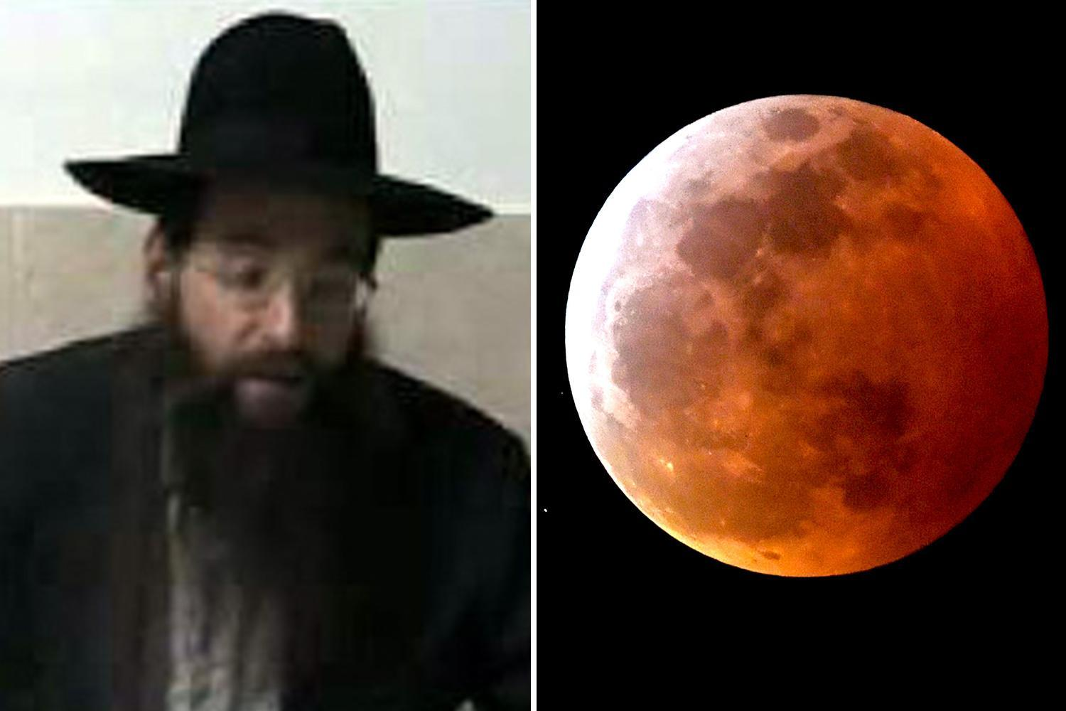 Super blood wolf moon an omen of 'human suffering' and sign all Jews should return to Israel, rabbi claims