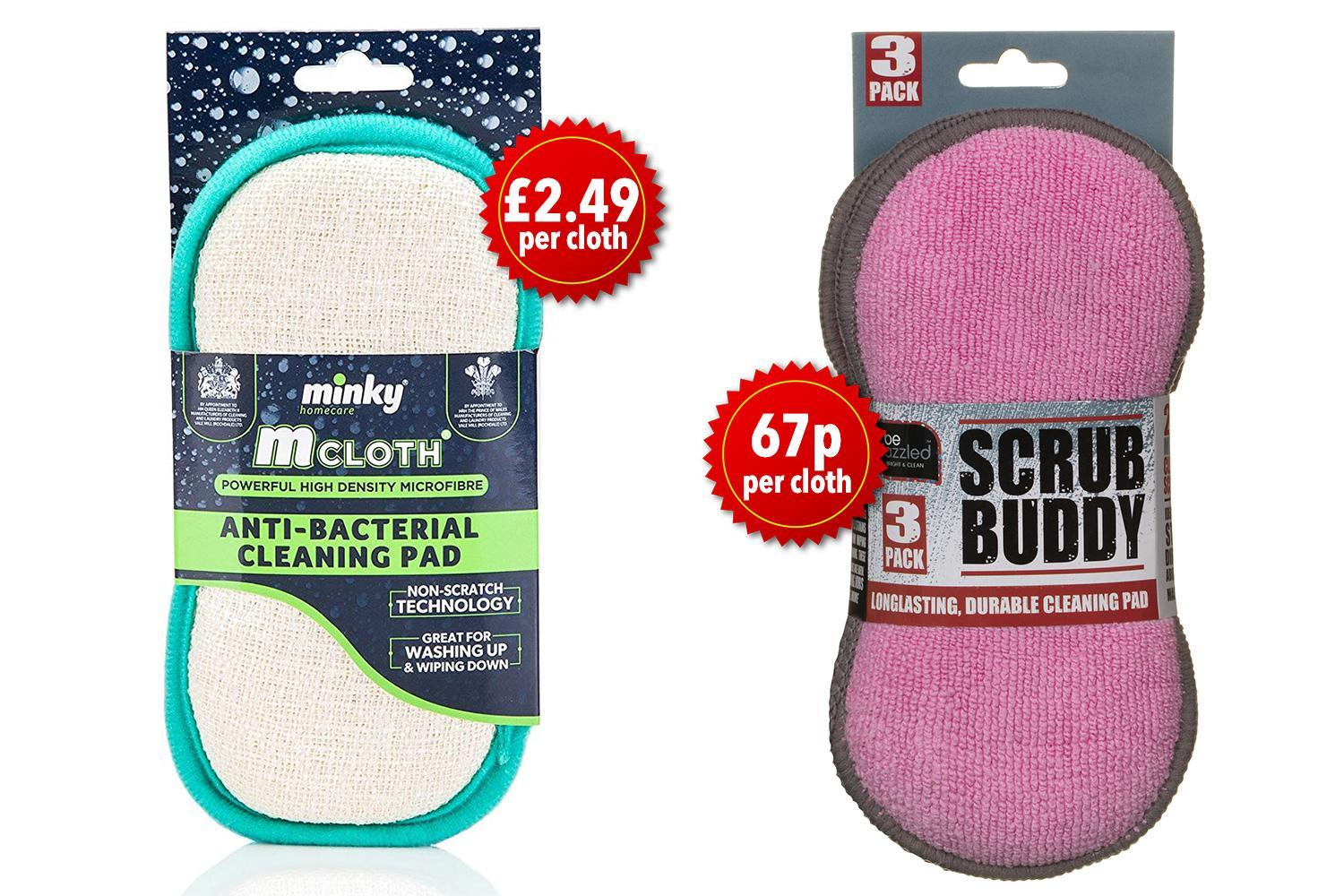 B&M is launching its own version of Mrs Hinch's favourite minky cleaning cloth and it costs £2 less
