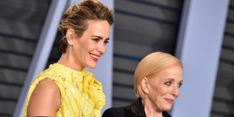 Holland Taylor and Sarah Paulson's Relationship Started in the DMs
